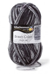 Příze Bravo Color 2114 graphit denim